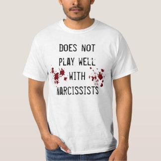 Camiseta Sentimiento anti del narcisismo con las