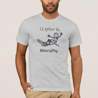 Camiseta Sería bastante esquí náutico