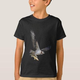 Camiseta Serie de la moda de la fauna de Osprey del vuelo