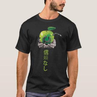 Camiseta Serpiente en una manzana