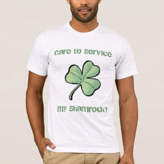 Camiseta Servicio del trébol