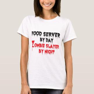 Camiseta Servidor de la comida del asesino del zombi del