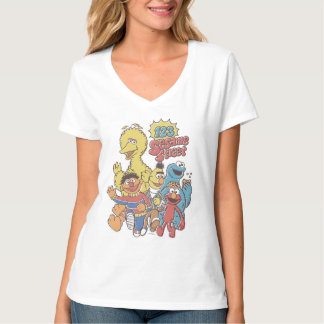 Camiseta Sesame Street 2 del vintage 123