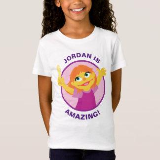 Camiseta Sesame Street el | Julia que sostiene la pluma