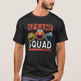 Camiseta Sesame Street - pelotón del sésamo