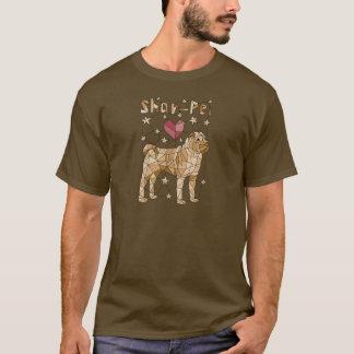 Camiseta Shar geométrico Pei