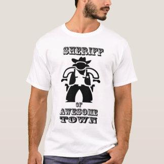Camiseta Sheriff de Awesometown (imagen grande)