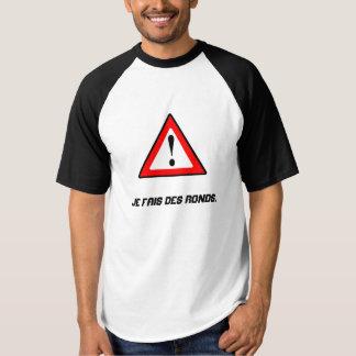 Camiseta ¡Shirt cachondo para la práctica del tenis!