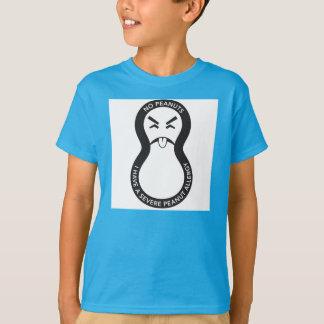 Camiseta shirtKeep asqueroso de los cacahuetes sus niños