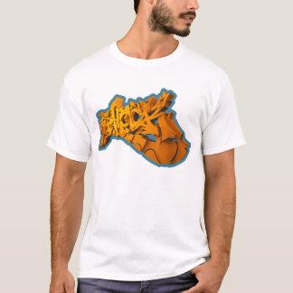 Camiseta SHOCKEA 3D (3D-Graffiti en playera)