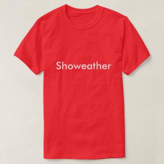 """Camiseta """"Showeather"""" inspirado por el campeón del lombardo"""