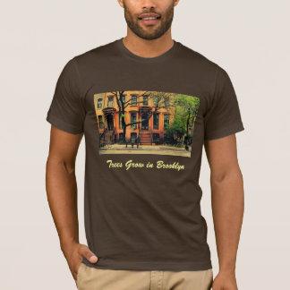 Camiseta Sí, los árboles crecen en Brooklyn