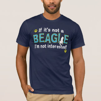 Camiseta Si no es un beagle