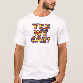 Camiseta sí-nosotros-gato