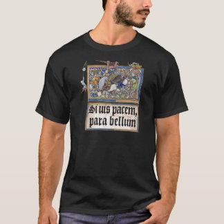 Camiseta si vis pacem, para bellum