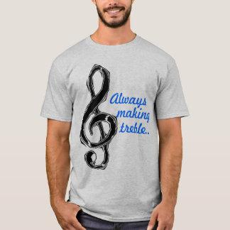 Camiseta Siempre fabricación de triple