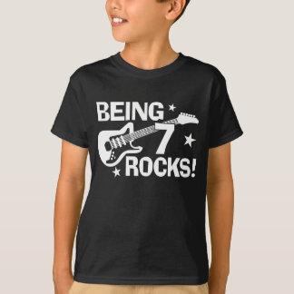 Camiseta Siendo 7 rocas