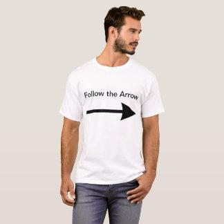 Camiseta Siga la flecha