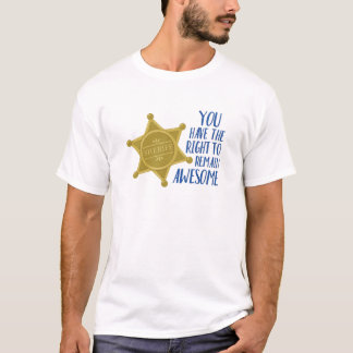 Camiseta Siga siendo impresionante
