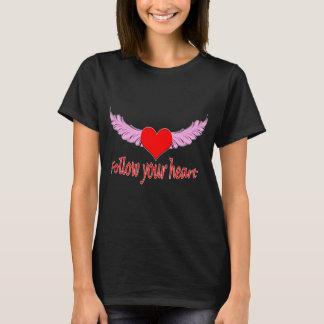 Camiseta Siga su corazón