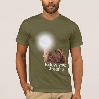 Camiseta Siga sus sueños - pereza