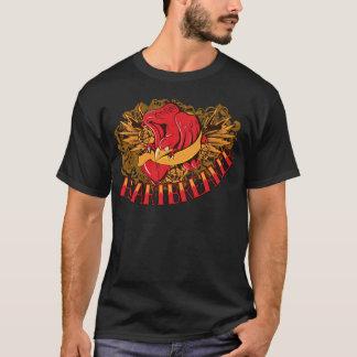 Camiseta significativa del corazón de la