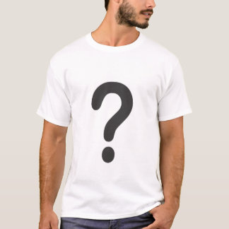 Camiseta Signo de interrogación