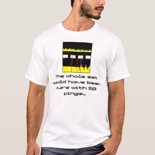 Camiseta silbidos de bala de team.dot 50 - edición del