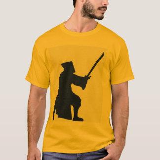Camiseta sillouette del samurai