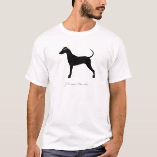 Camiseta Silueta alemana del Pinscher
