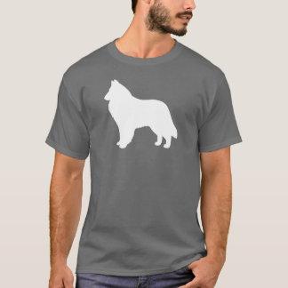 Camiseta Silueta belga del perro pastor