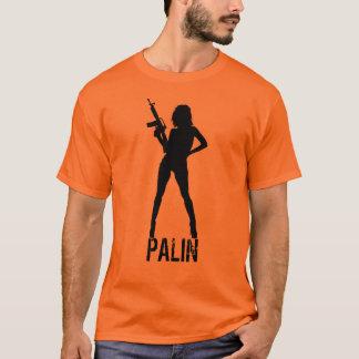Camiseta Silueta de Palin