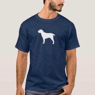 Camiseta Silueta de Spinone Italiano