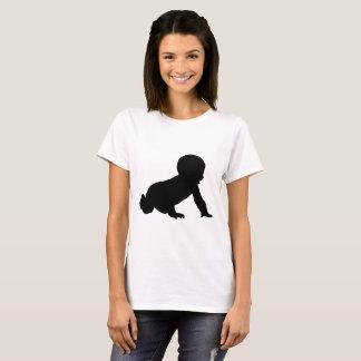 Camiseta Silueta del bebé