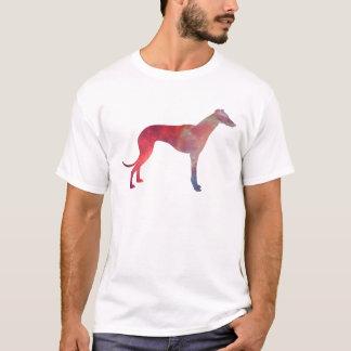 Camiseta Silueta del cosmos del galgo