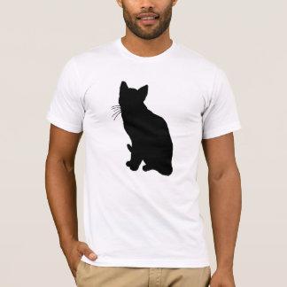 Camiseta Silueta del gato