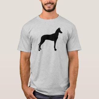 Camiseta Silueta del perro del Pharaoh