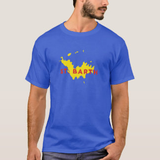 Camiseta Silueta del St. Barth