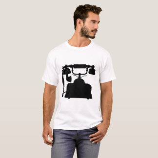 Camiseta Silueta del teléfono