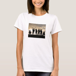 Camiseta Siluetas del soldado