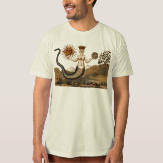 Camiseta simbólica de la alquimia con Sun y la