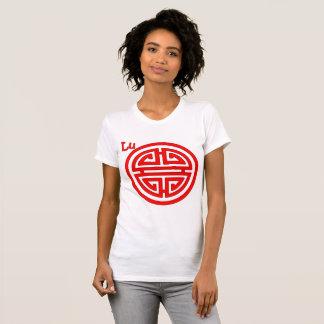 Camiseta Símbolo chino del lu