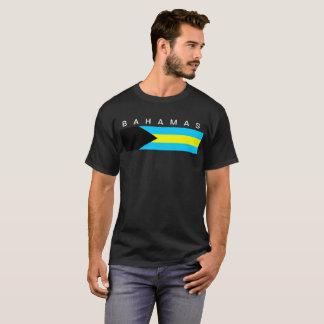 Camiseta Símbolo de la bandera de país de Bahamas de largo