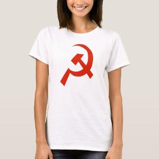 Camiseta Símbolo de la hoz del martillo de URSS