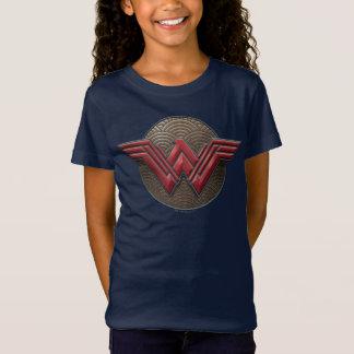 Camiseta Símbolo de la Mujer Maravilla sobre círculos