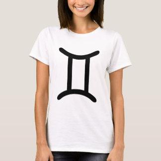 Camiseta Símbolo de los géminis