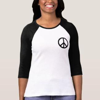 Camiseta Símbolo de paz negro
