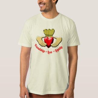 Camiseta Símbolo del irlandés de Claddagh