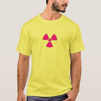 Camiseta Símbolo del peligro de radiación