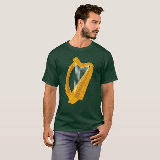 Camiseta Símbolo irlandés de la arpa
